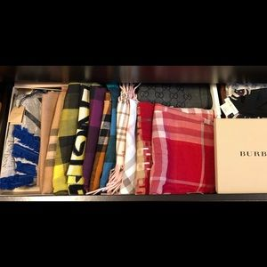 💝My Burberry scarves/wraps collection 💝